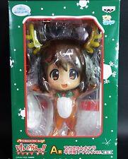 """10"""" Banpresto K-On! Ichiban kuji Prize A Yui Hirasawa Chirstmas Reindeer Ver"""