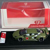1/64 LB Works Liberty Walk Lamborghini Aventador LP700 Zero Fighter Green