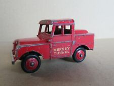 412M Vintage Dinky 255 England Land Rover Police Mersey Tunnel
