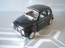 WELLY - FIAT 500 1968 NERO BLACK  1:39 11,5 cm LEGENDARY   [MV7]