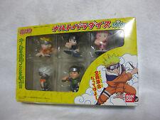 NARUTOJapanese Animeation Naruto Figure 5 Set NARUTO PARADAISE Japan