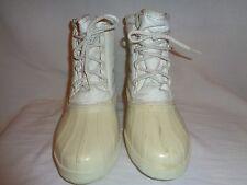 SOREL Kaufman Canada White Winter Snow Boots Women's Size W7