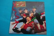 "NEW KIDS ON THE BLOCK "" MERRY MERRY CHRISTMAS ""LP 1989 CBS NUOVO"