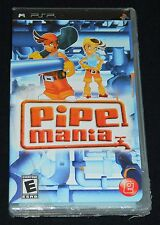 NEW* Pipe Mania (Sony PSP, 2008) - * = Large tear in plastic wrap (see pictures)