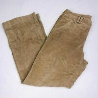 Dockers Womens Pants sz 10 Brown Corduroy Casual Straight Leg Flat Front  QK58
