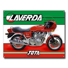 1982 LAVERDA JOTA 120 Degrees 1000cc Moto Metal Letrero 40.6cm x 30.5cm con / S