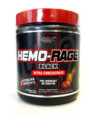 NUTREX HEMO RAGE ULTRA CONCENTRATE PRE WORKOUT 255g - Fruit Punch Energy Focus