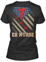 Custom Awesome Er Nurse Gildan Women's Tee T-Shirt Gildan Women's Tee T-Shirt