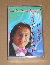 """""""GLI INDIMENTICABILI"""" DI SANDRINO PIVA - MUSICASSETTA MC SIGILLATA (SEALED)"""