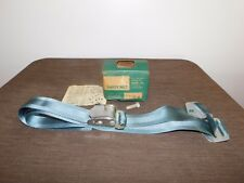 VINTAGE CAR AUTO SAFETY SEAT BELT IN BOX 1965 ROBERK MODEL 500R BLUE