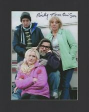 RICKY TOMLINSON ROYLE FAMILY BROOKSIDE HAND SIGNED 10X8 MOUNTED AUTOGRAPH PHOTO