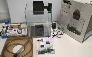 Fluvel Chi 19L Fish Tank With Filter And Water Feature With Light - Boxed #444