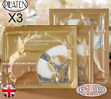 PIL'ATEN Collagen Under Eye Peel Mask Moisturising Gel Patches Anti Wrinkle  X3