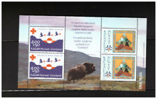 Greenland Sc.B18a S/S Boy Scouts In Greenland 50Th Anniversary Mnh Pbpg5