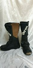 OXTAR MENS STEEL TOE MOTORCYCLE BOOTS PROTECTION SIZE UK 8 EU 42