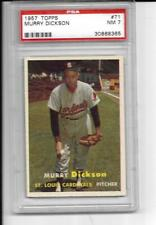 1957 Topps Baseball #71 Dickson PSA