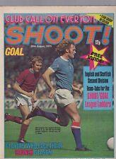 (-0-) RARE SHOOT! FOOTBALL EVERTON TEAM PHOTO 30TH AUGUST 1975 UK Comic