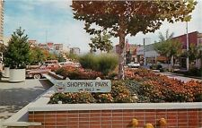 Grand Junction CO~~Shopping Park~Western Auto~GE Sign 1960s Postcard