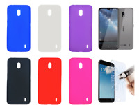 "Case Cover Gel TPU Silicone For Nokia 2.2 (4G) 5.71"" + Optional Protector"
