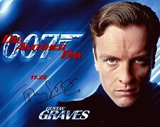 Toby Stephens signed James Bond Die Another Day photo / autograph Gustav Graves