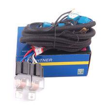 Ceramic H4 Headlight 4 Headlamp Light Bulbs Relay Wiring Harness Socket Plug Kit