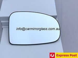 RIGHT DRIVER SIDE MIRROR GLASS FOR TOYOTA PRIUS ZVW30 2009 - 2015