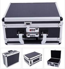 Security Safe Combination Lock Box Suitcase Jewelry Cash Money Pistol Gun Case