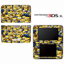 Vinyl Skin Decal Cover for Nintendo 3DS XL LL - Despicable Me Minions 2
