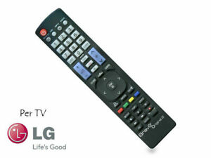 TELECOMANDO LG UNIVERSALE COME ORIGINALE TUTTI I TV LCD,LED,SMART TV 3D ORIGINAL