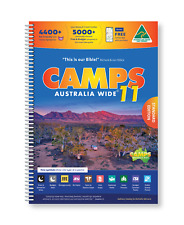 Camps 11 Australia Wide A4 Camping Hiking 4x4 Spiral Map Book