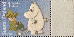 Finland 2004 Moomin MNH Unusual Stamp (Felt)