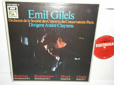 C153-11626/28 Beethoven Rachmaninov Mozart Chopin Emil Gilels Andre Cluytens 3LP