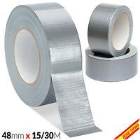 Cinta Adhesiva AMERICANA Gris 48mm x 15 30 mts Rollo Precinto Adhesivo Embalaje