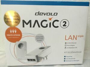 Devolo Magic 2 - 2400 LAN Triple Home Network Starter Kit FRANCE MODEL