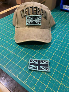 LIGHT INFANTRY VETERAN'S adjustable baseball cap with patches, 3D Veteran's sign