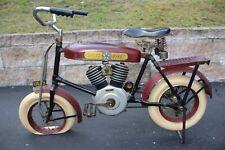 Original 1933 Speed-O-Byke Pedal Motorcycle, Nice Original Condition