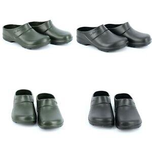 LEMIGO Clogs Gartenclogs Gartenschuhe Hausschuhe Gummischuhe Camping-Schuhe