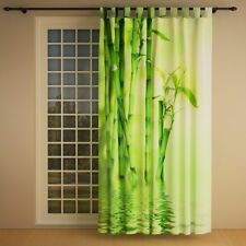 """Foto Schlaufenschal Vorhang Gardine """"Bambus rechts"""""""