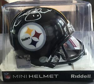 KORDELL STEWART Signed Riddell Mini Helmet-PITTSBURGH STEELERS-JSA Certified