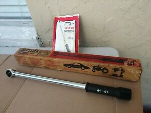 "Sears Craftsman 1/2"" Drive Digitork Torque Wrench 10-150 ft lbs. 44478"