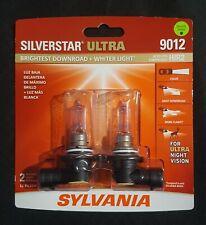 Sylvania Silverstar Ultra 9012 HIR2 55W Two Bulbs Head Light Low Beam Replace OE