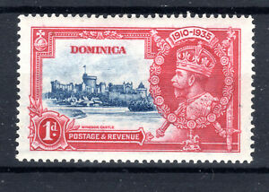 Dominica  1d  Royal Silver Jubilee  item 1935 KGV MH [P0321]