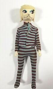 "1966 Hasbro Peteena Poodle 9"" Fashion Dog Doll with Pajamas Vintage 60s"