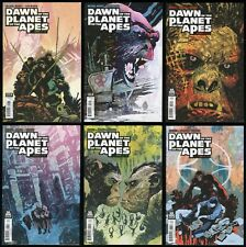 Dawn of the Planet of the Apes Comic Set 1-2-3-4-5-6 Lot Boom! PotA Movie Sequel