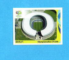 PANINI-GERMANY 2006-Figurina n.7- BERLIN - OLYMPIASTADION -NEW BLACK
