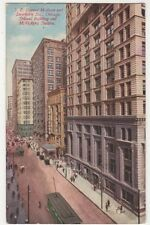 USA, Chicago, Madison & Dearborn Streets Postcard, B226