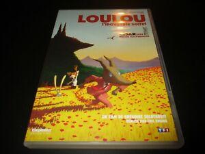 "DVD ""LOULOU, L'INCROYABLE SECRET"" dessin anime Gregoire SOLOTAREFF - Eric OMOND"