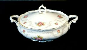 Beautiful Royal Albert Tranquility Covered Vegetable Tureen