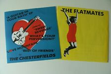 "THE CHESTERFIELDS: A GUITAR IN YOUR BATH + FLATMATES HAPPY ALL THE TIME 7"" VINYL"