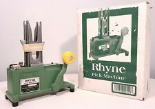 RHYNE PICK MACHINE STEELPIX FLORAL STEMMING TOOL NEW COMPLETE IN BOX
